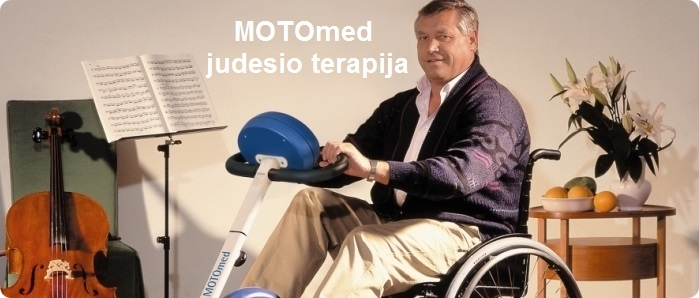 Motomed judesio terapija