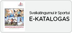 Katalogas Sveikatingumui ir sportui