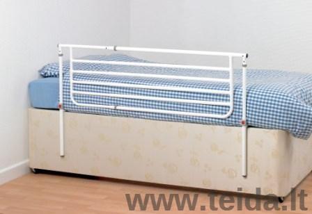 Reguliuojami apsauginiai lovos šonai