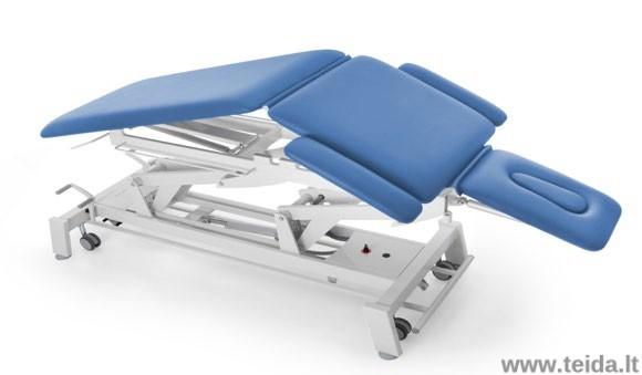Elektrinis 5 sekcijų osteopatijos ir manualinės terapijos stalas