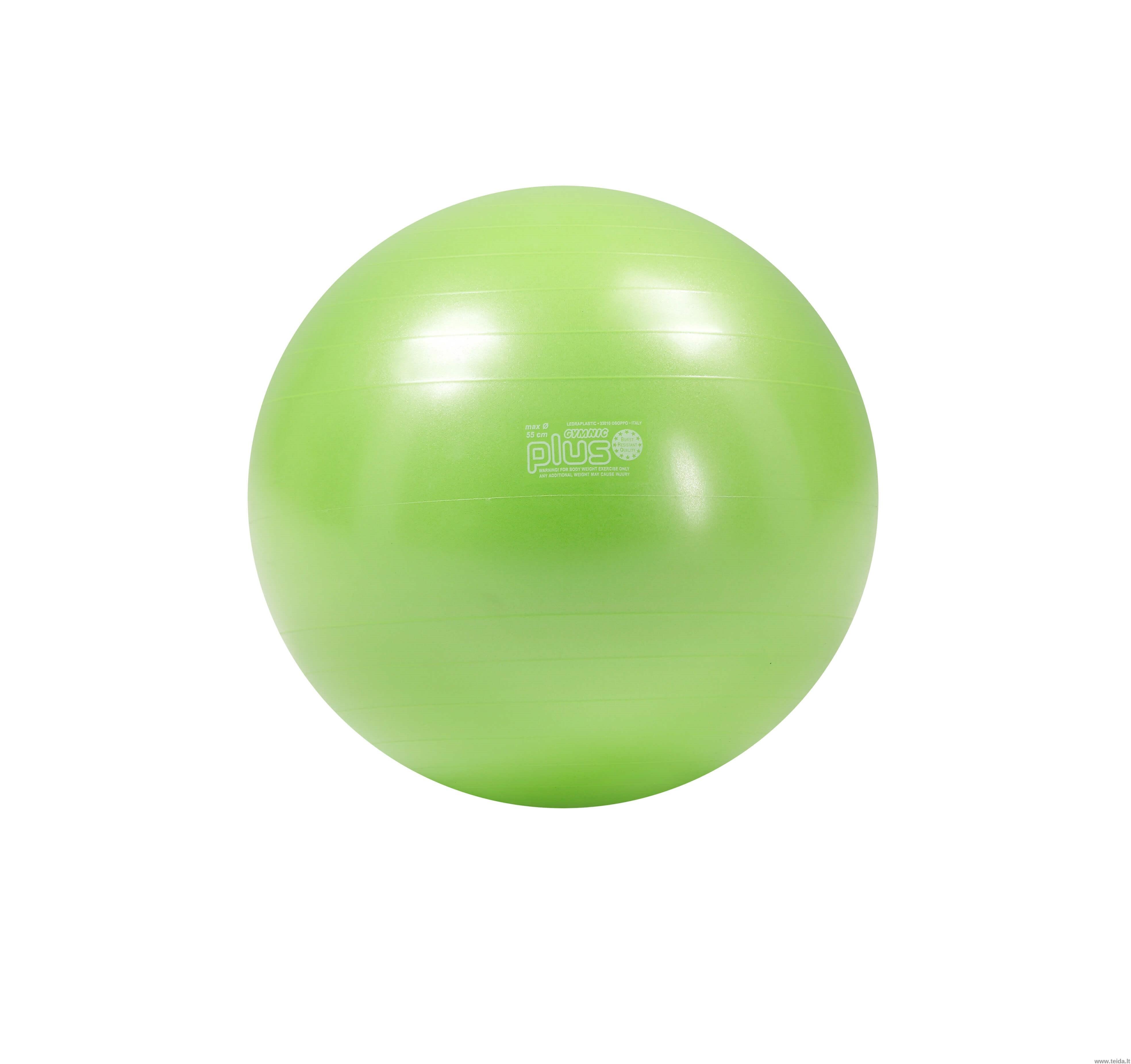 Gymnic Plus kamuolys 55 žalias