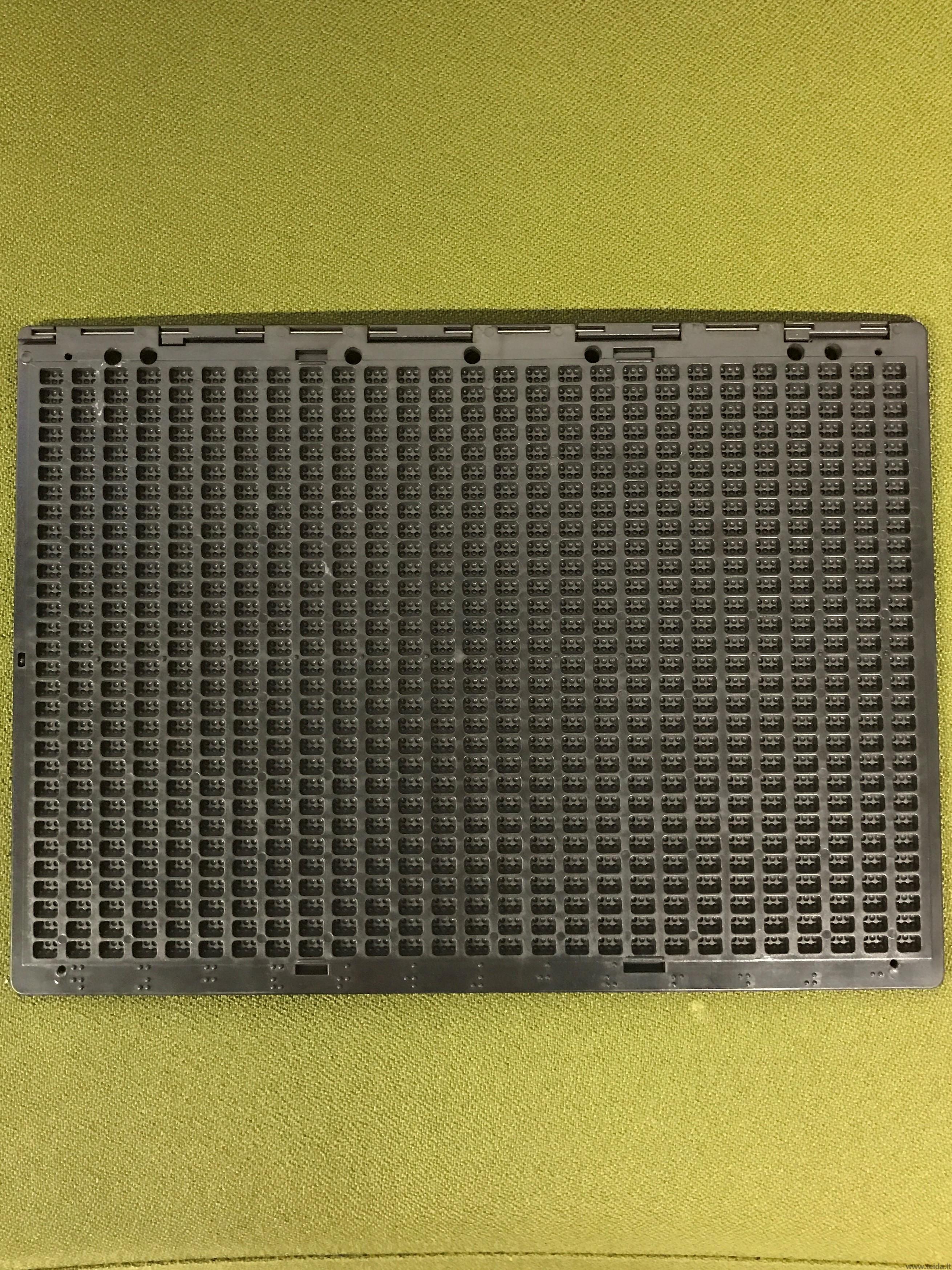 Brailio lentelė 27 eilučių
