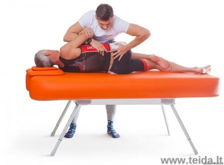 Nubis Pro XL pripučiamas masažo ir terapijos stalas