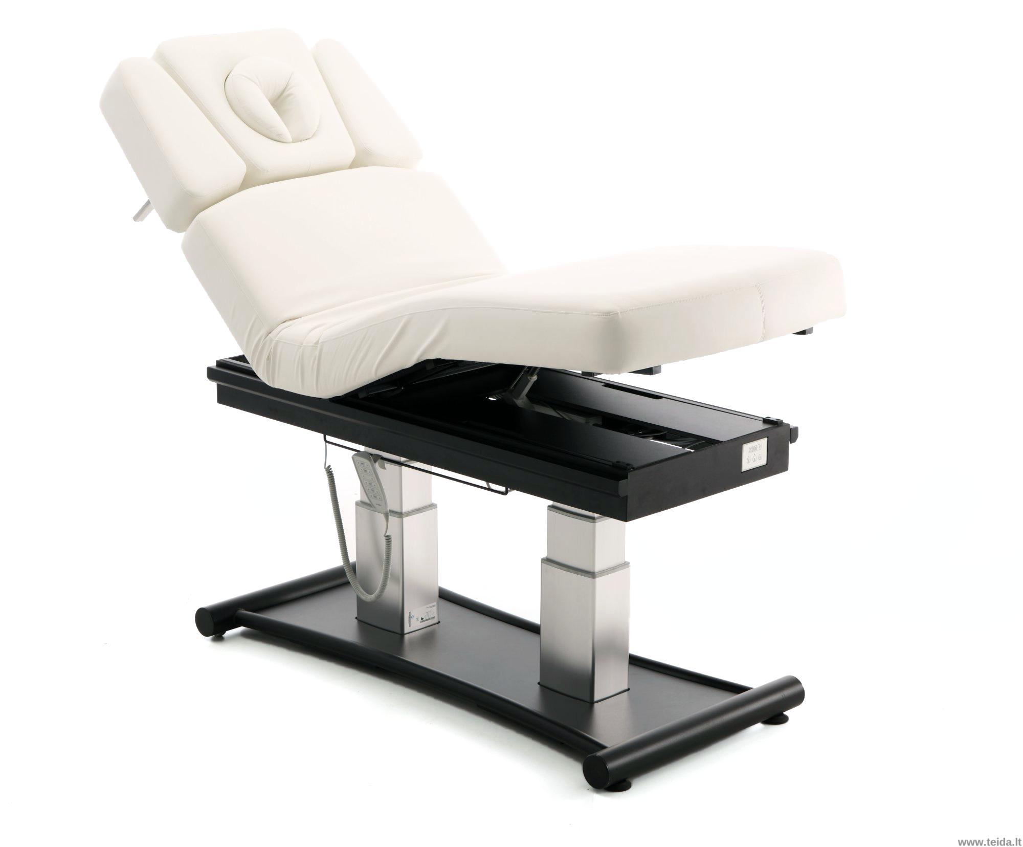 7 dalių PREMIUM klasės masažo stalas su šildymu ir apšvietimu