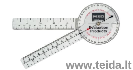 Goniometras 20 cm