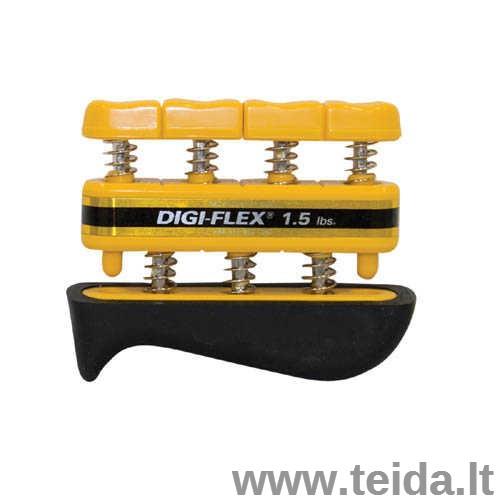 Espanderinis rankos treniruoklis Digi-Flex, geltonas
