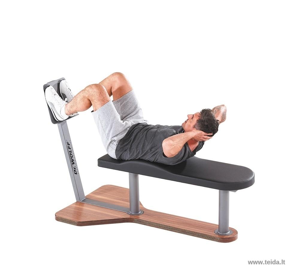 Dr. Wolff pilvo raumenų treniruoklis ABDOMEN 338