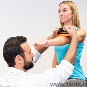 Rankinis raumenų jėgos dinamometras