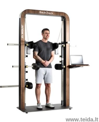 Skaitmeninis izometrinės raumenų jėgos dinamometras Back-check 617