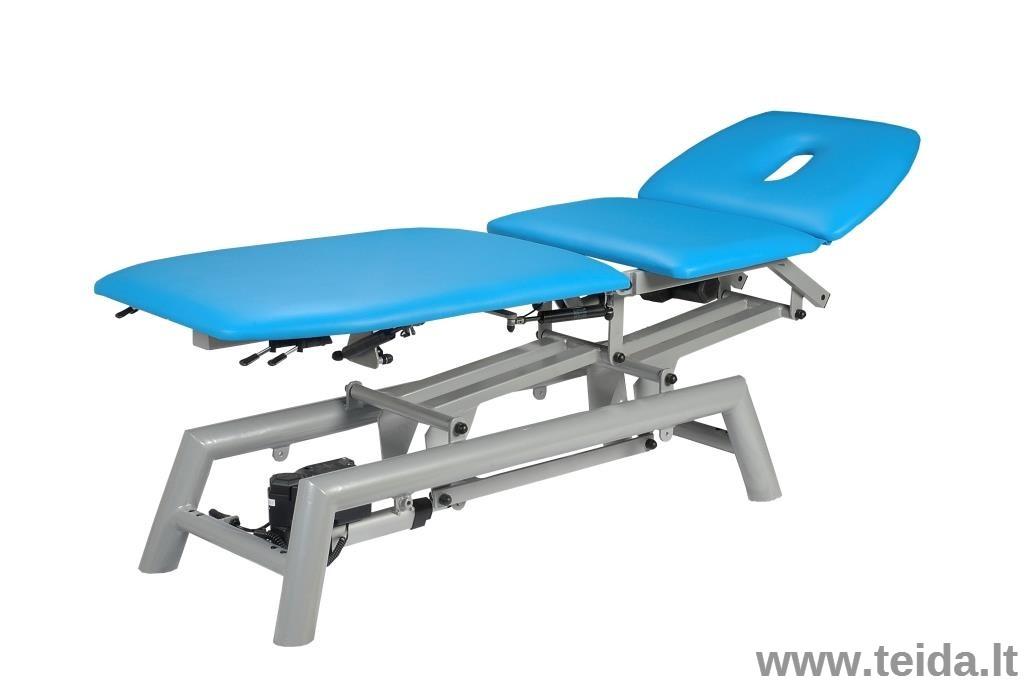 Elektrinis 3D 3-jų dalių masažo (terapinis) stalas Granit