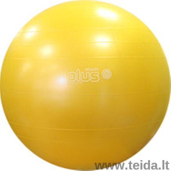 Gymnic Plus kamuolys 65 geltonas