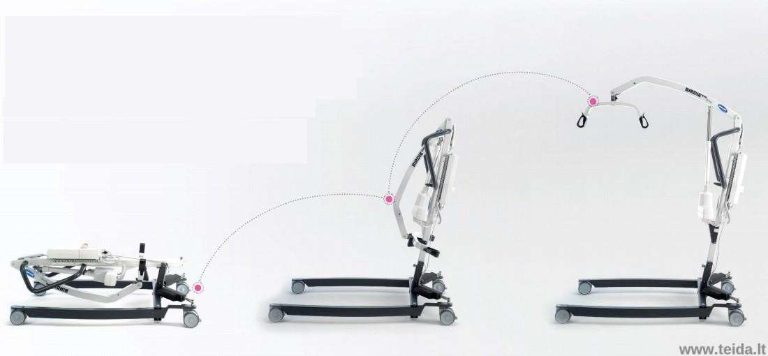 Mobilus elektrinis keltuvas INVACARE Birdie Evo Compact