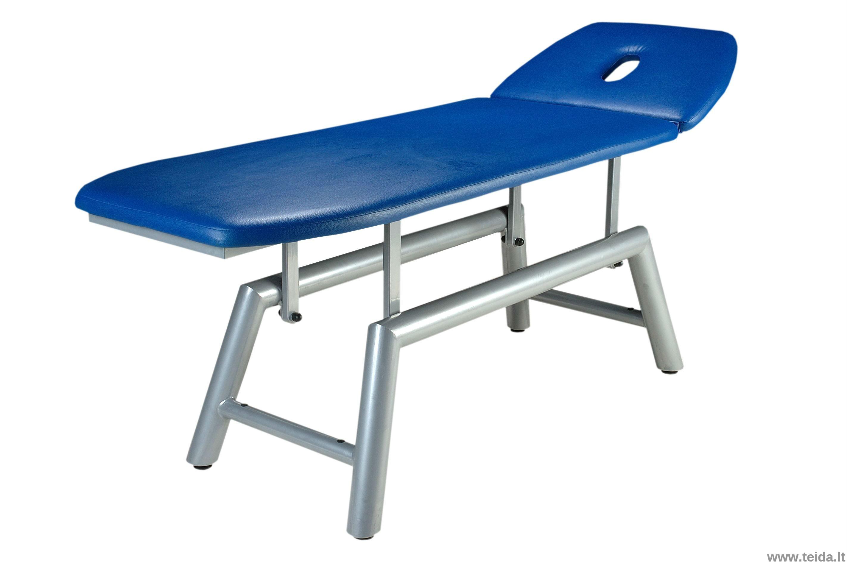 Metalinis 2-jų dalių masažo (terapinis) stalas Agat II