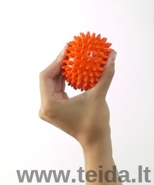 BEAUTY REFLEX 8 cm skersmens dygliuotas masažo kamuoliukas