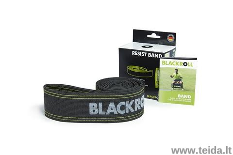 Elastinė juosta Blackroll®, juoda