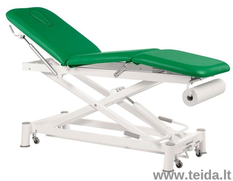 Trijų sekcijų hidraulinis masažo stalas