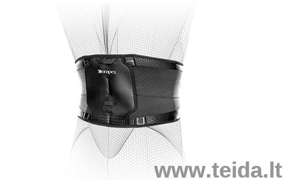 COMPEX nugaros įtvaras Bionic Back, L dydis