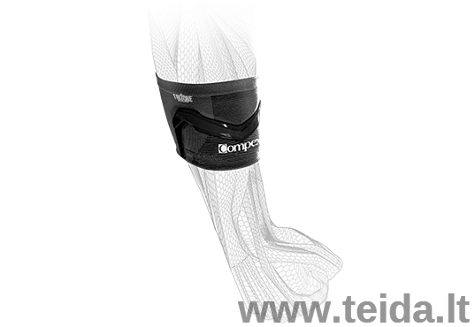 COMPEX alkūnės įtvaras Trizone Tennis/Golf, XL dydis