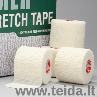Thera-band elastinis tvarstis Cramer Eco-Flex, baltas, 7,5 cm x 5,5 m