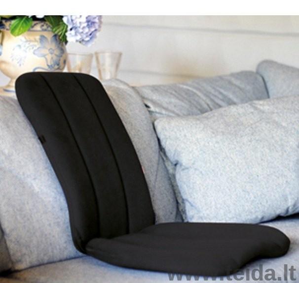 Nešiojama sėdynė SISSEL® DorsaBack, juoda