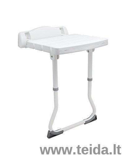 Atlenkiama dušo kėdė