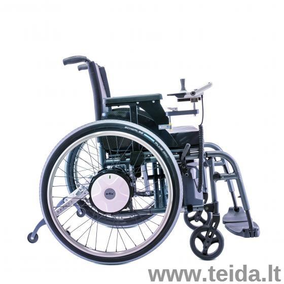 Elektrinė vežimėlio varymo sistema e-fix® E36