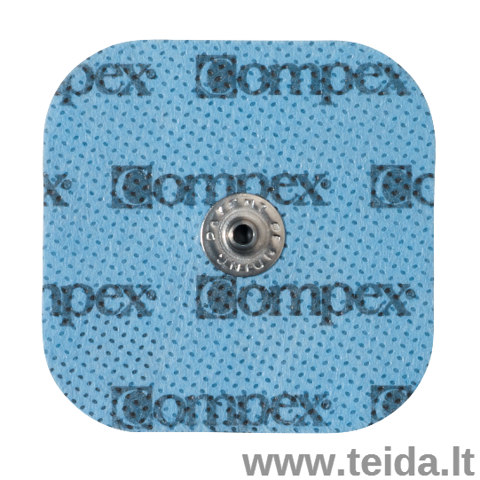 Compex elektrodas su spaustuku, 5x5 cm