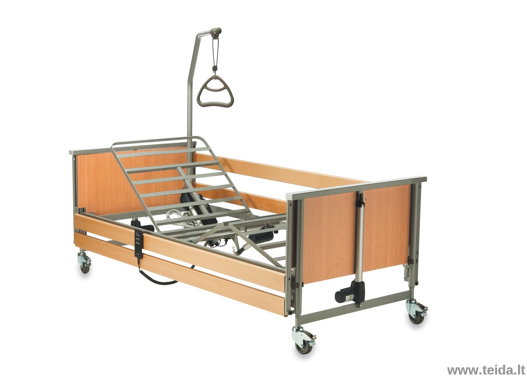 Invacare funkcinė slaugos lova, nuomai