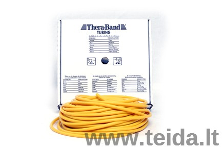 Thera-band apvali elastinė juosta, geltona