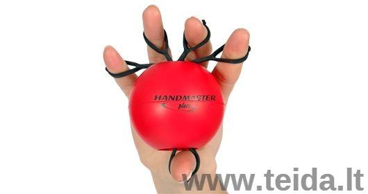 Rankos treniruoklis Handmaster Plus, raudonas
