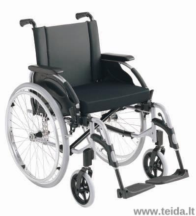 Neįgaliojo vežimėlis INVACARE Action 3NG, 45,5 cm