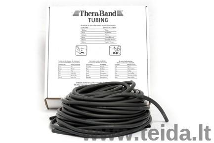 Thera-band apvali elastinė juosta, juoda