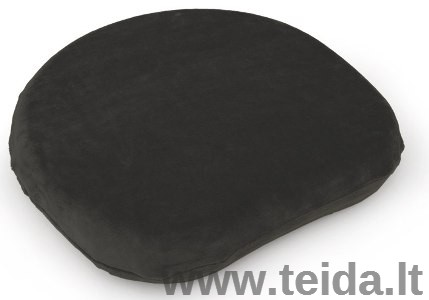 Užvalkalas SISSEL® SitFit Plus sėdėjimo pagalvėlei, juodas