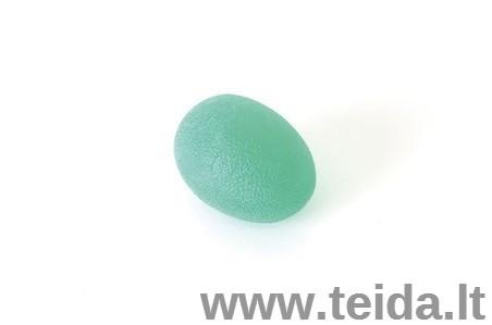SISSEL® kiaušinio formos treniruoklis plaštakai, žalias