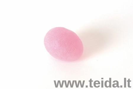 SISSEL® kiaušinio formos treniruoklis plaštakai, rožinis