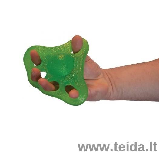 Power-web flex grip rankos treniruoklis, žalias