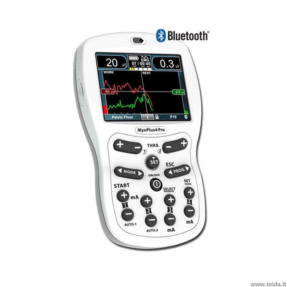 Elektrostimuliacijos ir biogrįžtamojo ryšio aparatas NeuroTrack MyoPlus 4 PRO