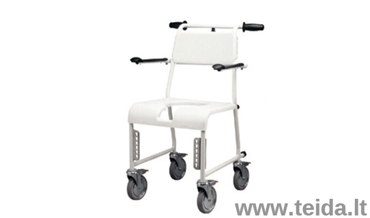 Dušo kėdės su ratukais nuoma