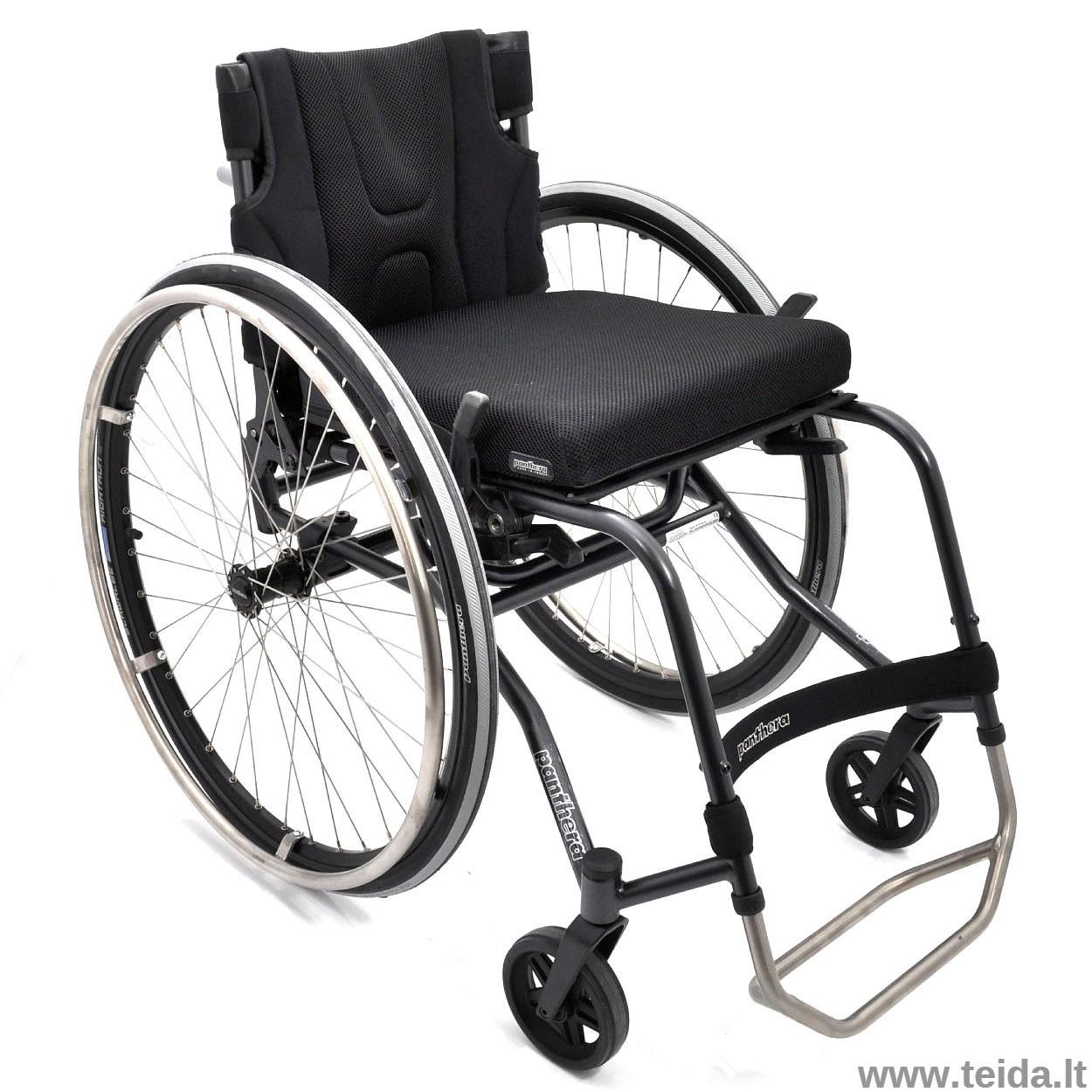 Aktyvaus tipo vežimėlis PANTHERA S3