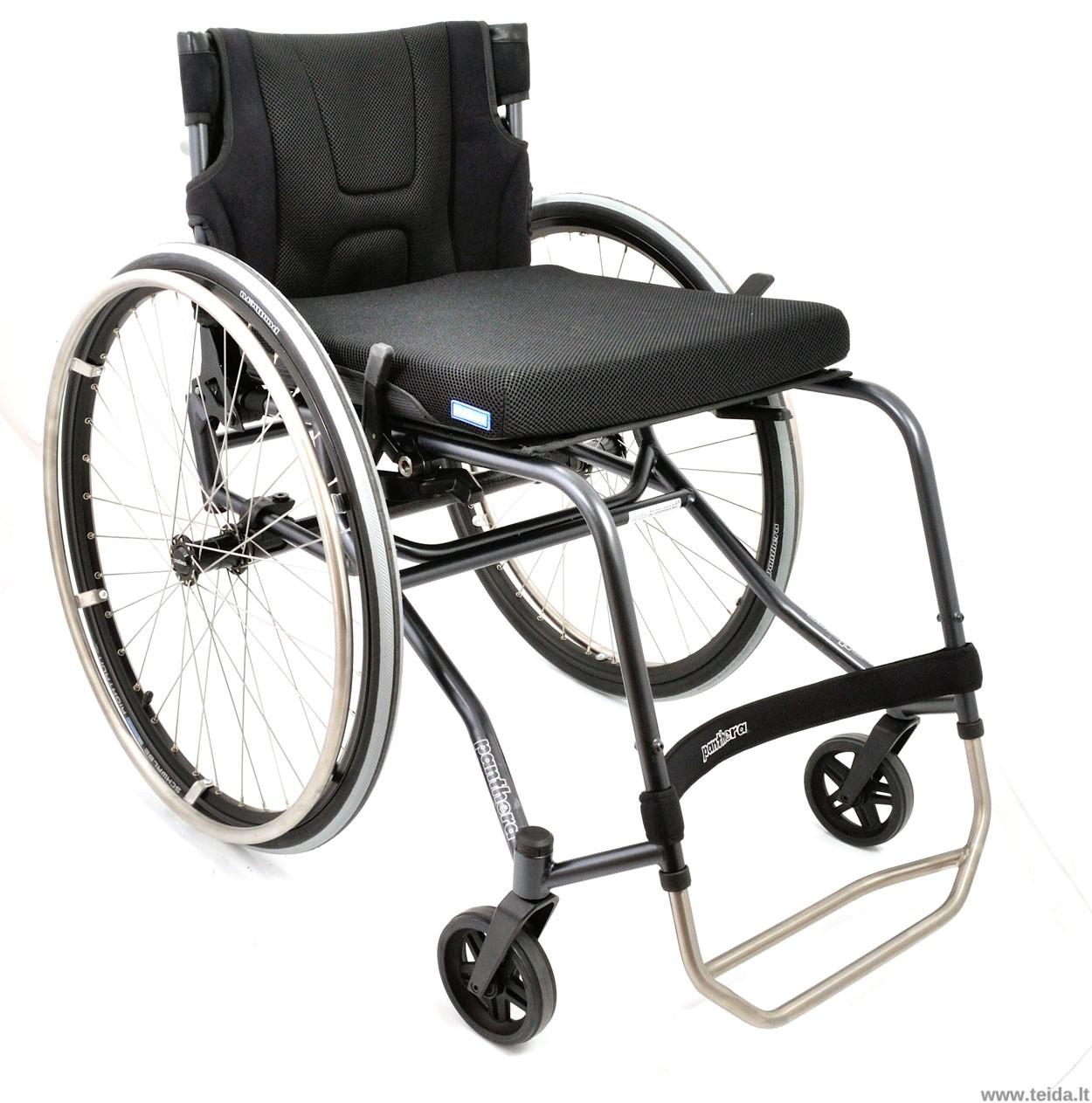 Aktyvaus tipo vežimėlis PANTHERA S3 Large