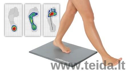 DIERS Pedoscan pėdų ir eisenos diagnostinė sistema
