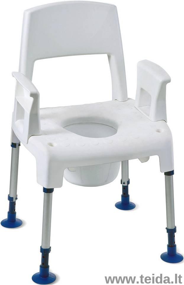 Tualeto-dušo kėdė INVACARE Pico 3 in 1