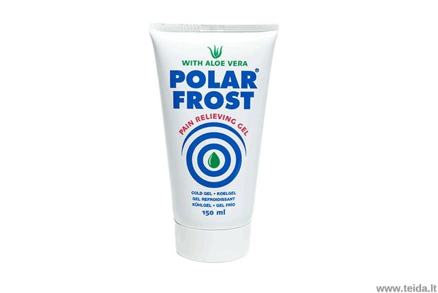 Šaldantis gelis su alijošiumi Polar Frost, 150 ml