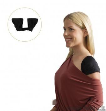 Moteriškas laikysenos korektorius, juoda spalva, dydis L-XL