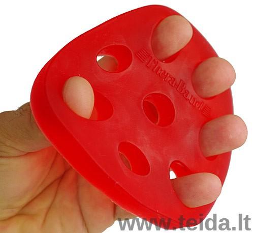Thera-Band plaštakos ir pirštų treniruoklis Hand Xtrainer, raudonas