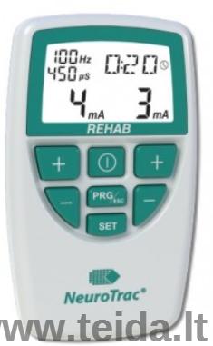 Elektrostimuliacijos aparato NeuroTrac REHAB nuoma