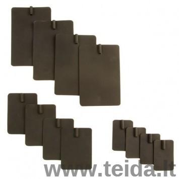 Guminis anglies pluošto elektrodas, 4x6 cm