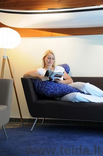 SISSEL COMFORT pozicionavimo pagalvės užvalkalas, mėlynas