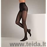 Moteriškos kompresinės pėdkelnės, juodos spalvos, dydis XL
