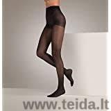 Moteriškos kompresinės pėdkelnės, juodos spalvos, dydis S